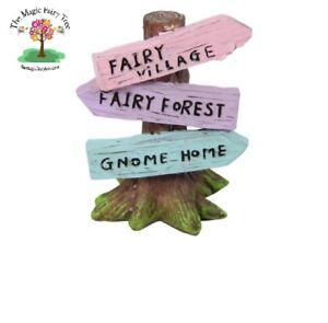 Miniature Fairy Tree Sign.  Fairy Garden.  Fairies.  Accessories.  Craft Decor