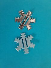 X20 Metal Snowflake Brads Ideal for Winter Wedding Invitations/Invites