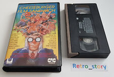 Cassette VHS - Cheeseburger Film Sandwich
