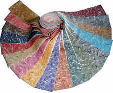"""17 2.5"""" Quilting Fabric Jelly rolls WOF Beautiful Whisper Textureds BUY IT NOW !"""
