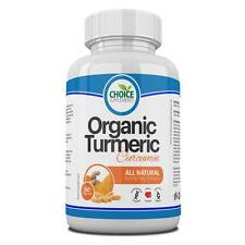 Organ Turmeric Capsules 500mg Curcumin Anti-inflammatory Antioxidant Job Lot 500