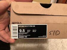 2011 Nike Air Max 90 VAC-TECH VT PREMIUM QS HAYSTACK WHEAT BROWN BIRCH WHITE 9.5