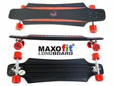 MAXOfit® Kunststoff Longboard (rot) XP 5.0, 92 cm
