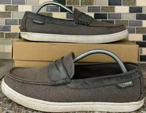 Cole Haan Pinch Grand OS Weekender Penny Loafer Grey Magnet Shoe Mens 9 M C25710