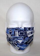"Handmade Large ""Penn State License Plates ~ Reusable Pocket Face Mask� In Hand"
