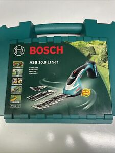 Bosch ASB 108 LI 10.8v Cordless Garden Shrub Hedge Grass Shears Set 3600H56300