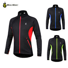 Cycling Jacket Windstopper Winter Thermal Windproof Long Sleeve cycle Coat Warm