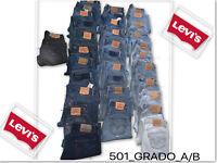 Levi's ® 501-Jeans-vintage- Grado A/B & B/C W28 W30 W32 W34 W36 501 LEVI 501s