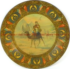 1900s Royal Saxony Plate William J Quennell SEA GRILL Faneuil Hall Boston EGYPT
