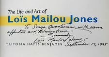 The Life and Art of Lois Mailou Jones Benjamin SIGNED by Ms. Jones biography
