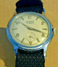 Junghans Trilastic, vintage gents watch, military style