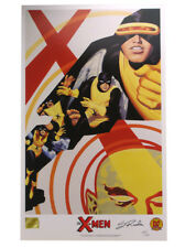 X-Men Children Of The Atom Lithograph Signed Steve Rude Limited Edition 1500