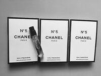 CHANEL PARIS NO.5 N5 EAU PREMIERE PERFUME EAU DE PARFUM 2ML X 3