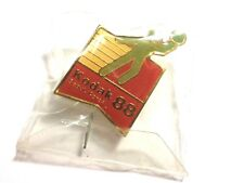 KODAK 88 SEOUL, KOREA PINBACK Olympic volleyball lapel pin in original packaging