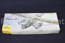 Heller Musée 1/72 rare maquette avion POTIEZ 540 L395 Général Denain