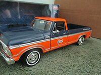 Motormax.. 1979 Ford F-150 Custom...  GULF graphics...1:24 DieCast