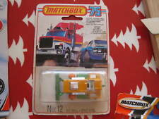 Mint Matchbox Superfast 12 Big Bull without tracks on Canadian blister unopened