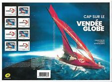 FRANCE 2020 Collector Vendée Globe 8 timbres autocollants
