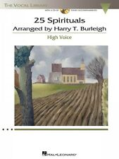 25 Spirituals Arranged by Harry T. Burleigh With a CD of Recorded Pian 000230110