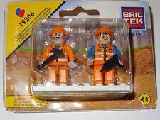 Construction Mini Figures People Set of 2 Construction Building Block Toy