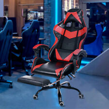 Leather Office Gaming Chair Home Internet Cafe Racing Chair Computer Chair