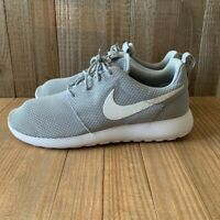 Nike Mens Roshe Running Shoes Wolf Gray White 511881-023 Low Top Lace Up 7.5 New
