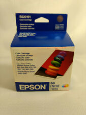 Genuine Epson Stylus Color Ink Cartridges S020191 Stylus 440 640 660 670 740 740