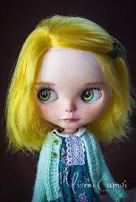 Custom Takara Feel the Sky Blythe Doll OOAK Blythe artist doll by Yumi Camui
