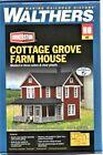 HO Scale Walthers Cornerstone 933-3664 Cottage Grove Farm House Kit
