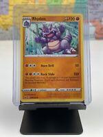 098//202 Rhydon Uncommon Card Pokemon TCG Sword /& Shield S/&S