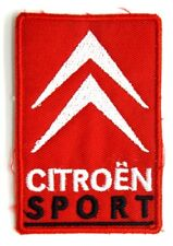 Toppa Patch Citroen Sport cm 5,6 x 8,4
