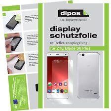 6x dipos ZTE Blade S6 Plus Film de protection d'écran protecteur antireflet