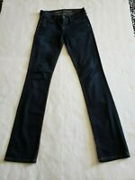 CITIZENS of HUMANITY Ava Low Rise Straight Leg Womens Dark Wash Blue Jeans Sz 25