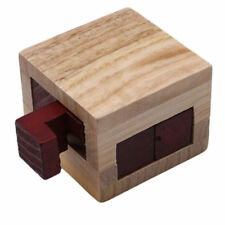 Box Puzzle Brain Teaser Puzzles Game Toy IQ Educational Wood Puzzles Wooden LN6X