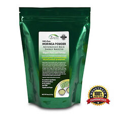 Moringa Oleifera Leaf Powder 8 oz - Organic,  Natural 100% Pure.
