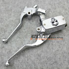 "1"" Handlebar Motorcycle Hydraulic Brake Clutch Lever Master Cylinder Left Right"