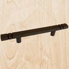 "Kitchen Cabinet Hardware Drawer Pulls 59234 Square Rust 3"" C.C."