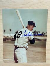 Ted Williams Signed 8X10 Photo Boston Red Sox Autograph