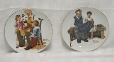 1982 Norman Rockwell Plates- 2 Collectible Limited Edition
