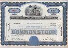Western Maryland Railway Company Stock Certificate Railroad Blue