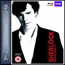 SHERLOCK - COMPLETE BBC SERIES 1 2 & 3   *BRAND NEW  BLU-RAY BOXSET *
