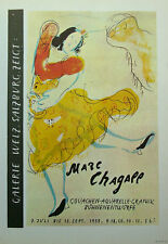 Marc Chagall litho 'Galerie Welz' 1966 Tempo Graphics