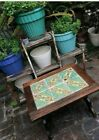 Monterey Mission-Spanish Revival 1930's California Taylor 6 Tile Top Table