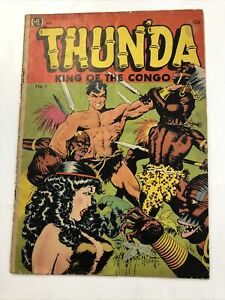Thunda King Of The Congo #1 1952 ME - Frank Frazetta Cover & Art
