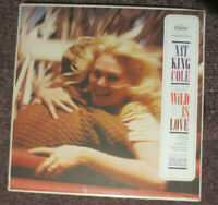 NAT KING COLE WILD IS LOVE (VG+) WAK-1392 LP RECORD Nelson Riddle Hi-Fidelity