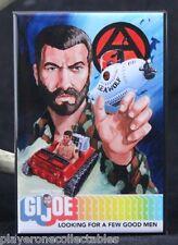 "G. I. Joe ""Sea Wolf"" 2"" x 3"" Fridge / Locker Magnet. Vintage Advertising"