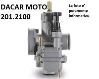 201.2100 Carburateur POLINI Gilera: Gsm 50 - H@K - Zulu (2001)