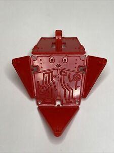 Vintage Mattel MOTU He-Man 1985 Red Extendar Shield Weapon Accessory Part