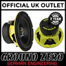 "Ground Zero Radioactive GZRW 25XSPL-D2 10"" 25cm 1200 Watts Car Sub Subwoofer"