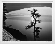 JOHN WIMBERLEY 1985 SOLAR REFLECTION - CRATER LAKE 16X20 PHOTOGRAPH